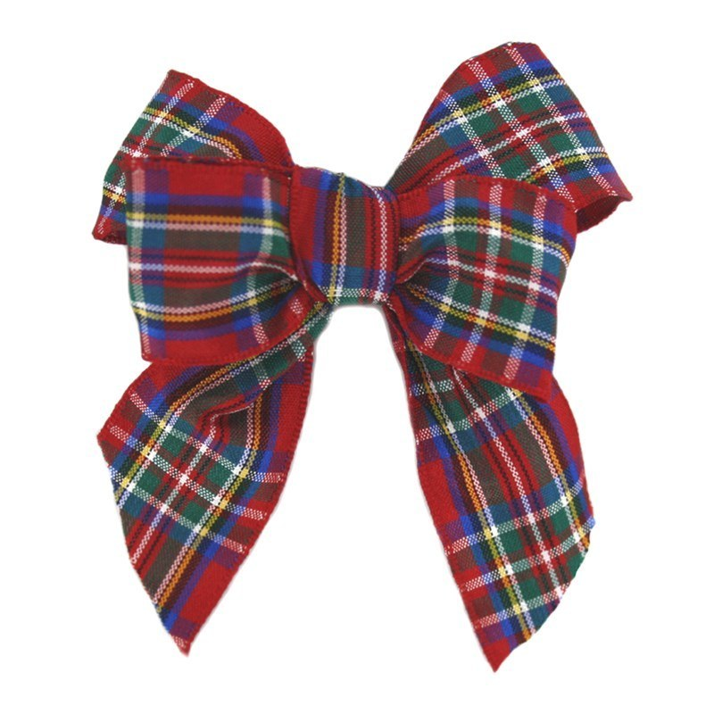 Wired Tartan Ribbon - 25mm Wide