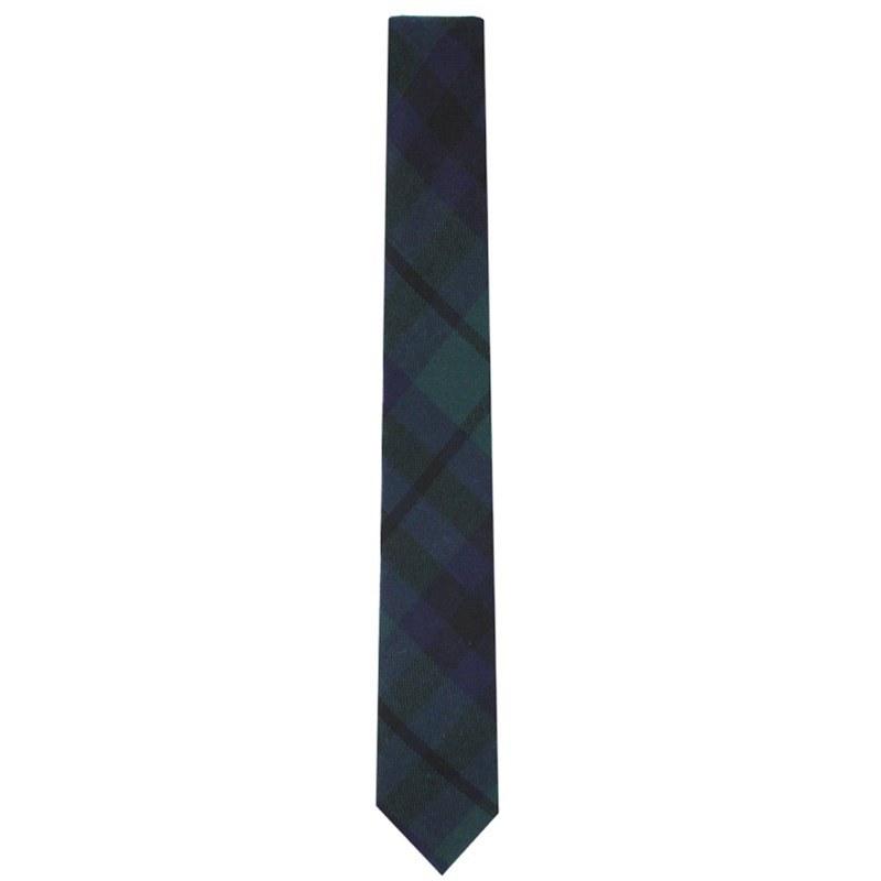 Narrow Tartan Tie