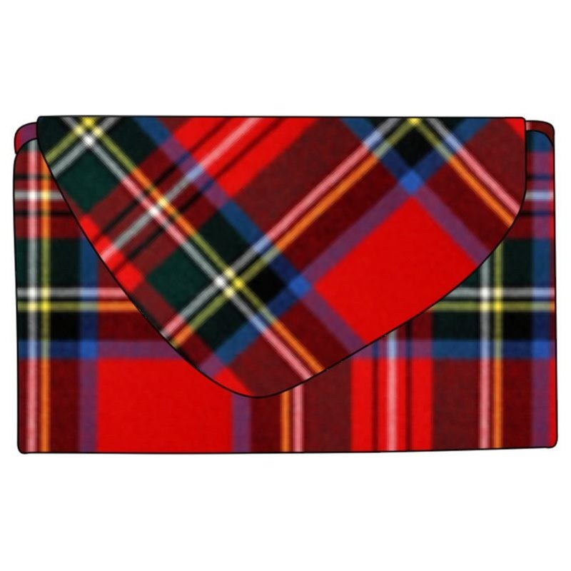 Tartan Purse in Stewart Royal