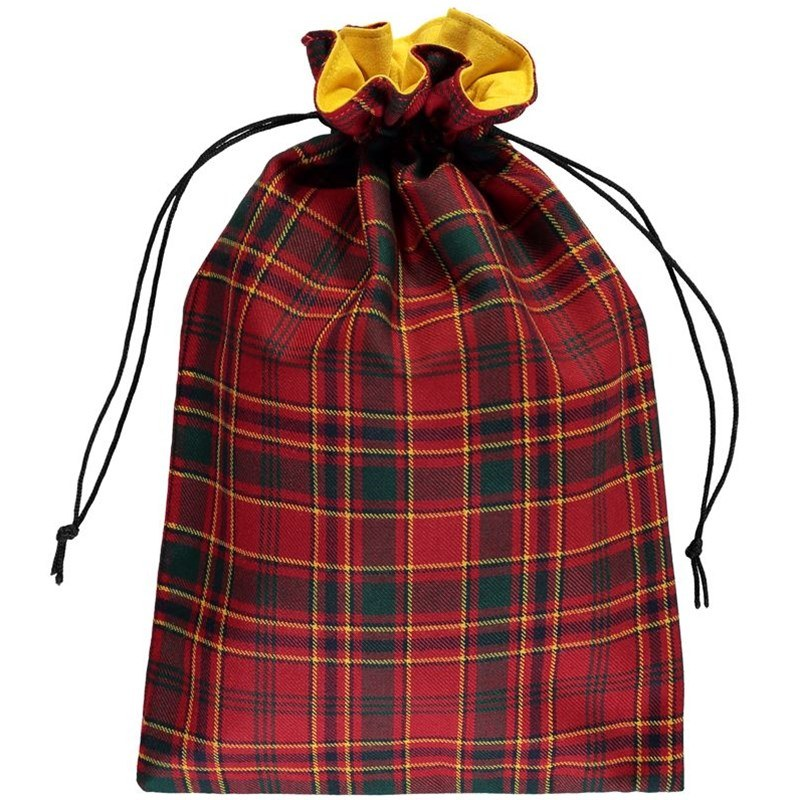Tartan Shoe Bag Made To Order