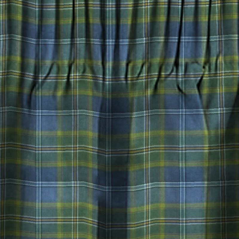 PENCIL PLEAT TARTAN CURTAINS Made To Order