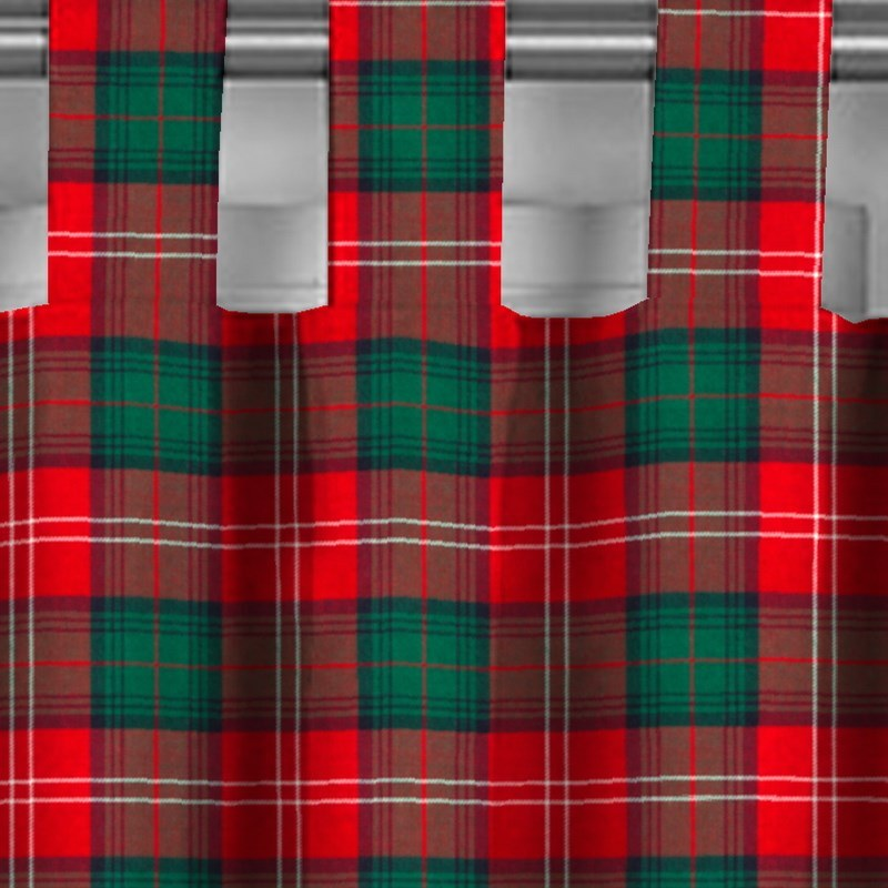 Tab Top Tartan Curtains Made To Order