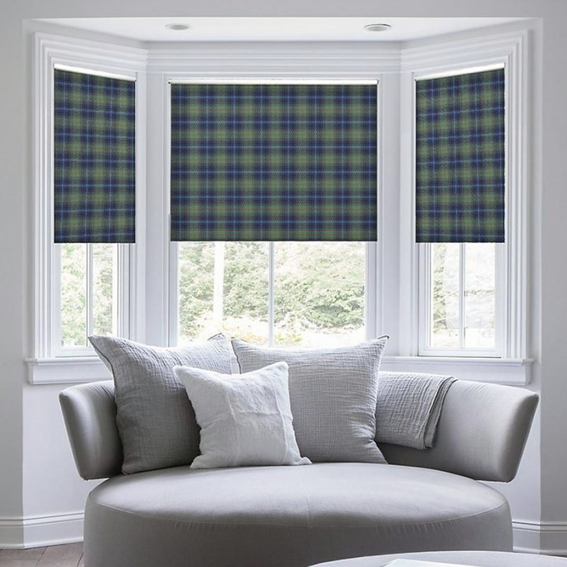 TARTAN ROMAN BLINDS Made To Order