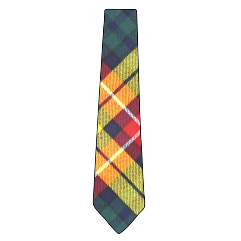 Wool Tartan Tie in Buchanan Modern