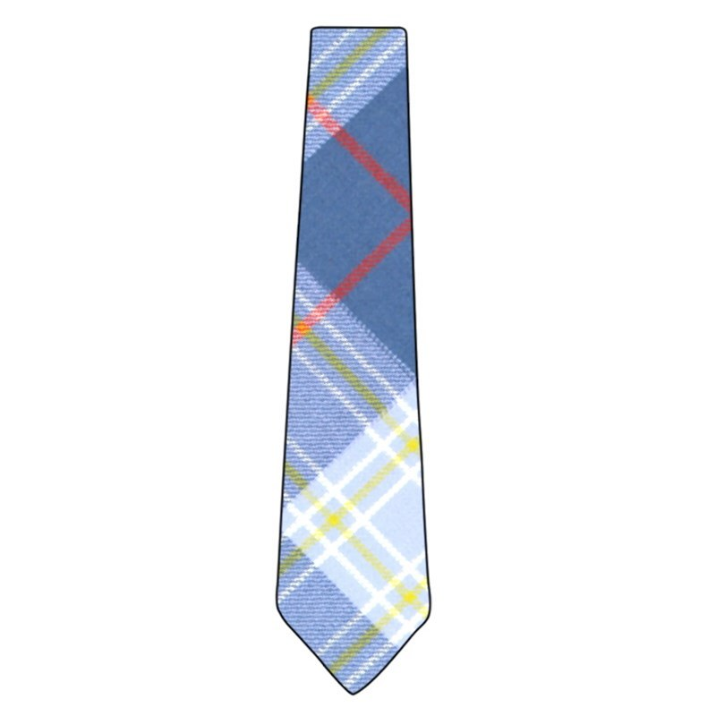 Wool Plaid Tie in Musselburgh Modern