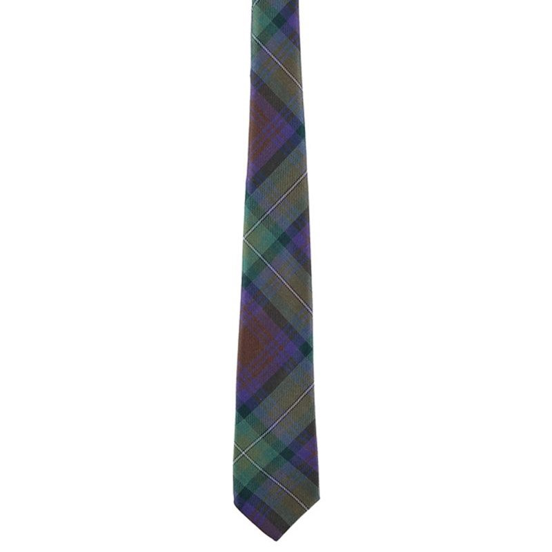 Wool Plaid Tie in Isle of Skye