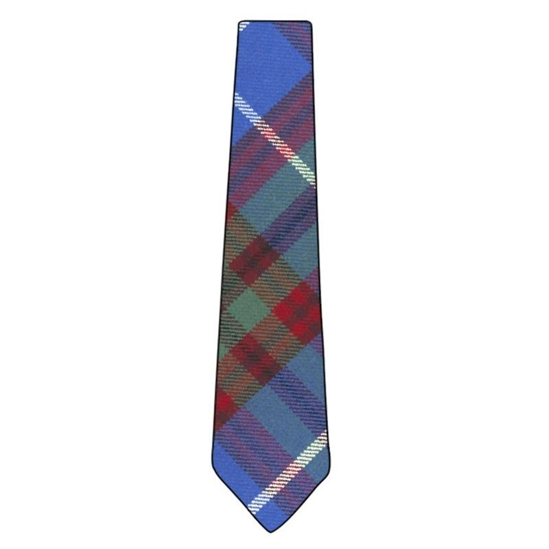 Wool Tartan Tie in Edinburgh