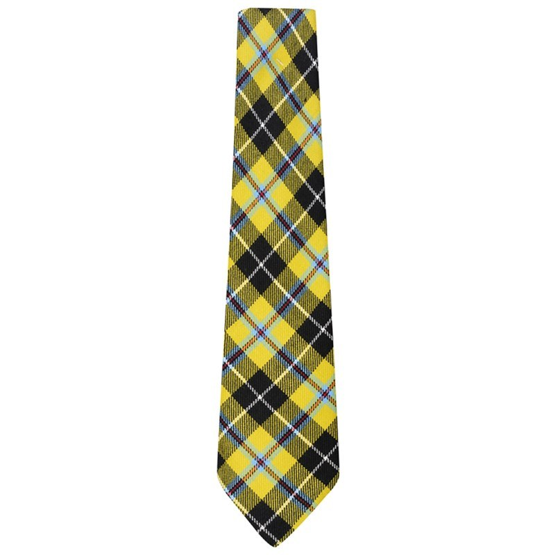 Wool Tartan Tie in Cornish National