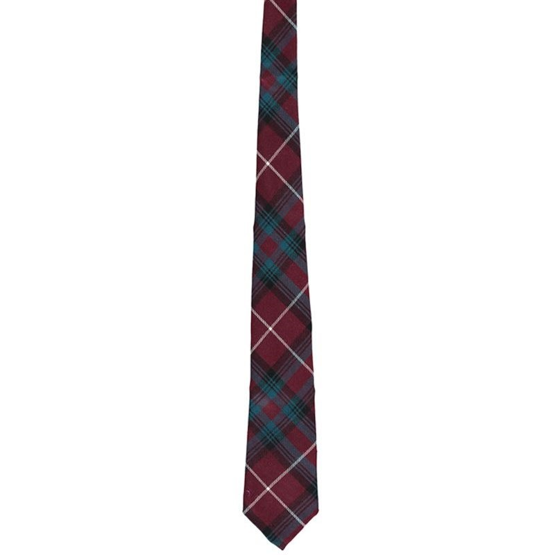 Wool Plaid Tie in Stuart of Bute