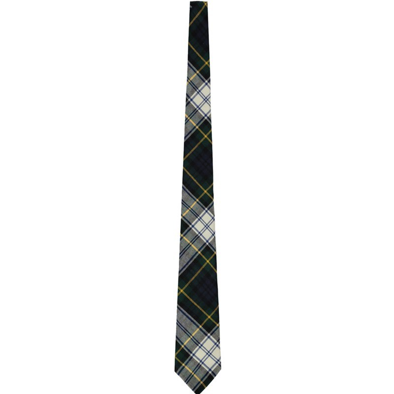 Wool Plaid Tie in Gordon Dress Modern