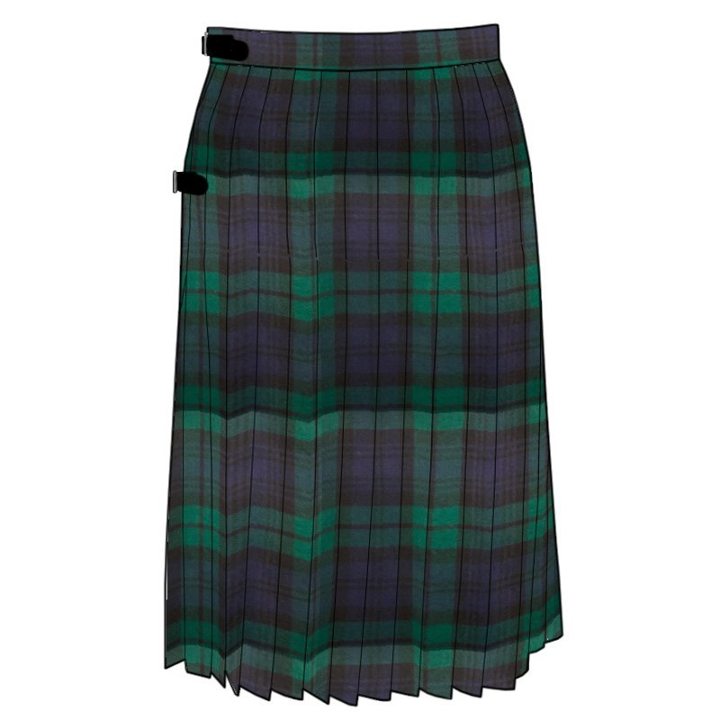 Tartan Kilted Rock in Black Watch Modern