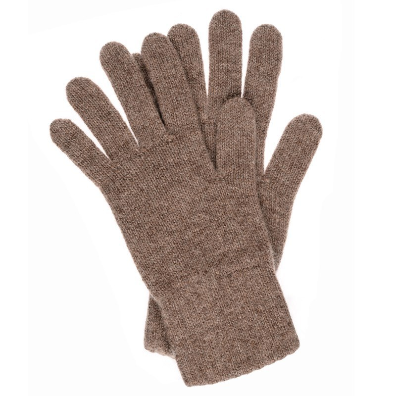 Men's Cashmere Gloves in Otter