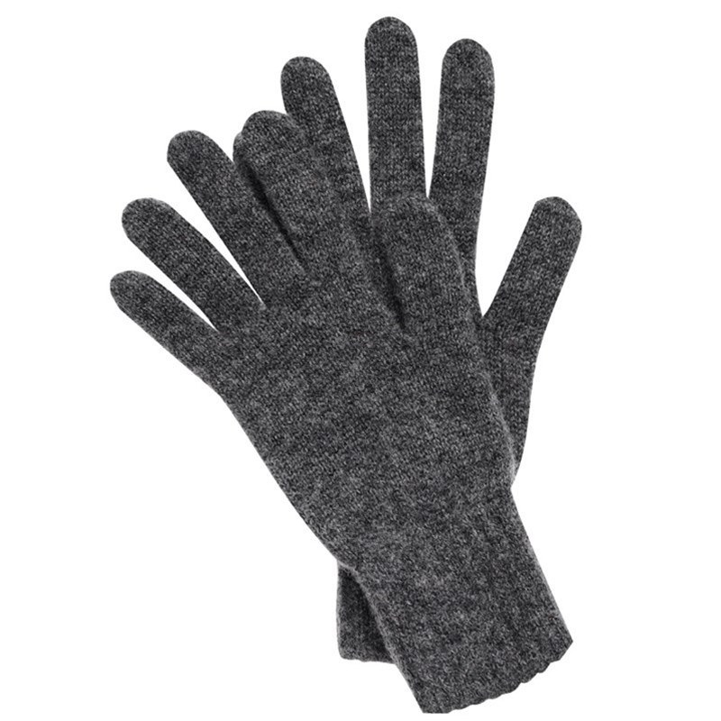 Men's Cashmere Gloves in Grey
