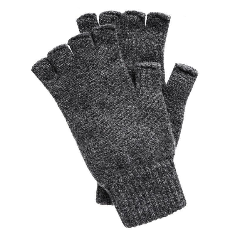 Guantes sin dedos in Grey