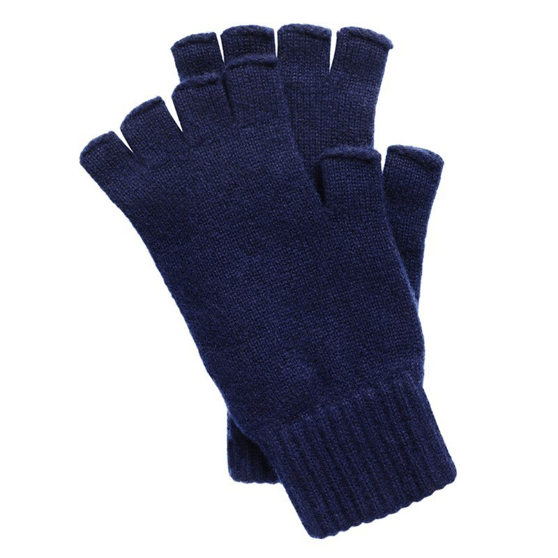 Guantes sin dedos in Navy Blue