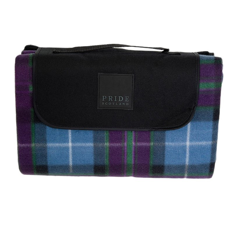 Waterproof Backed Tartan Picnic Rug in Pride of Scotland Ancient