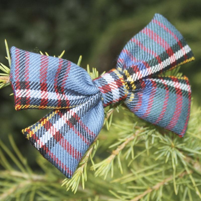 Anderson Modern Tartan Bow Decoration