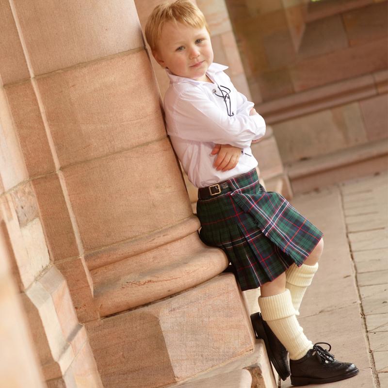 Boys Kilt Scottish National
