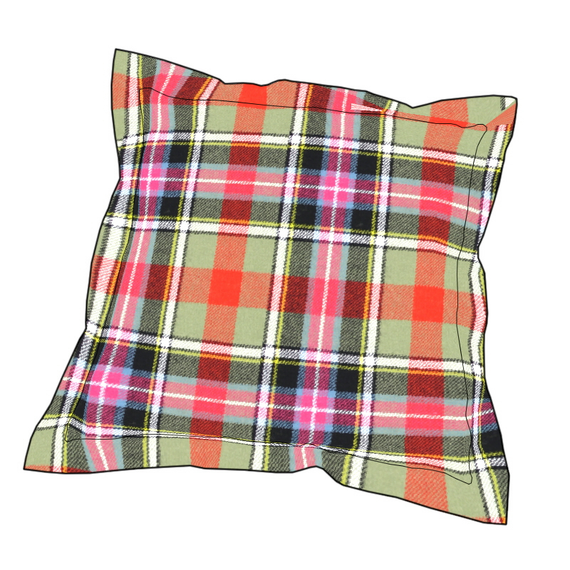 Essential Tartan Cushion Cover