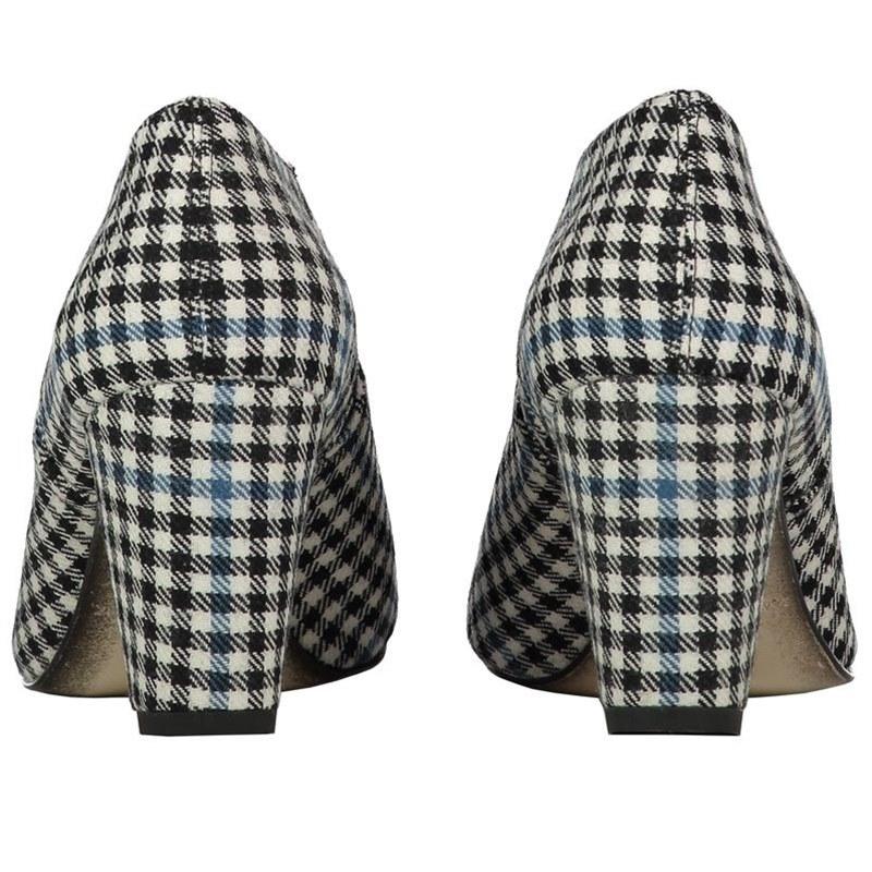 Buccleuch Tartan Boots Heels