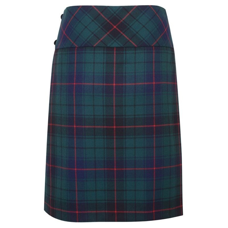 Celtic Wrap Tartan Skirt 1