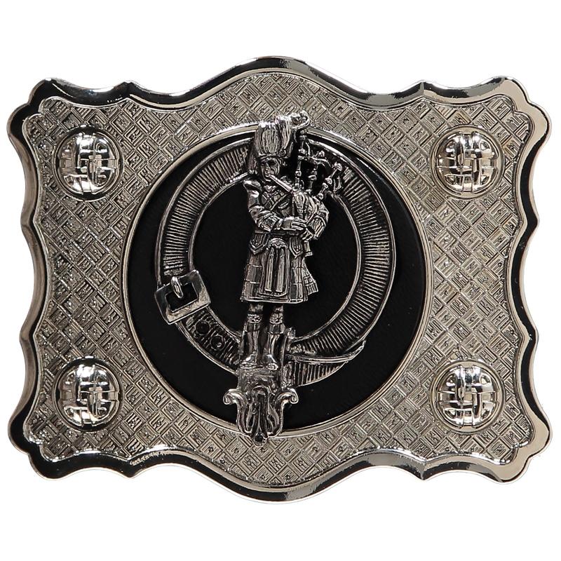 クランクレストベルトバックル in Piper Clan Crest
