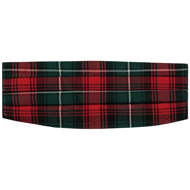 Cummerbund de lana in Duns Pipe Band