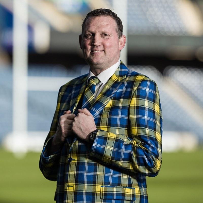 Doddie Weir Tartan Tie