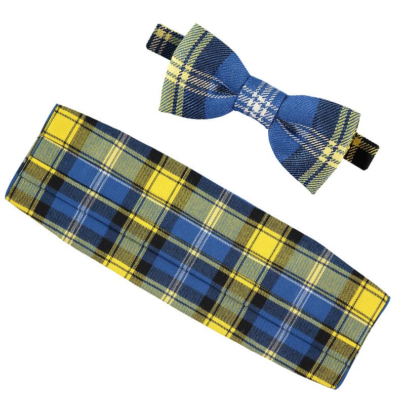 Doddie'5 Tartan Bow tie & Cummerbund Set