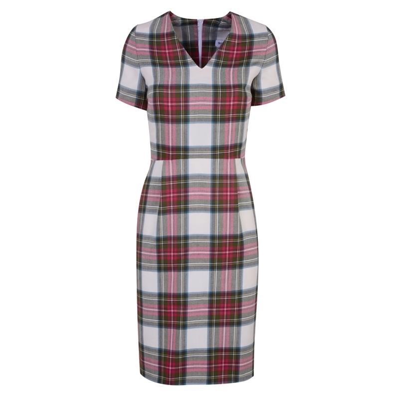 Robe ecossaise manches courtes  in Stewart Dress Weathered