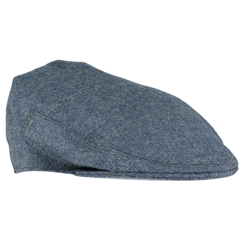Tweed Flat Cap in Cairngorm Flintstone and Quarry (CGE116)
