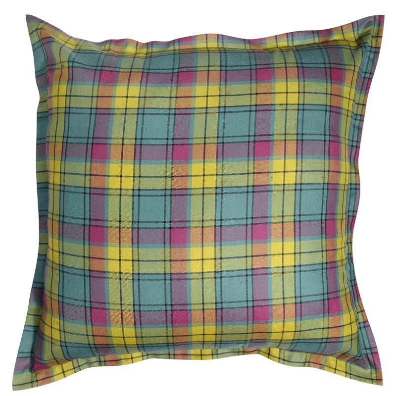 Giant Tartan Cushion Cover 80Cm X 80Cm