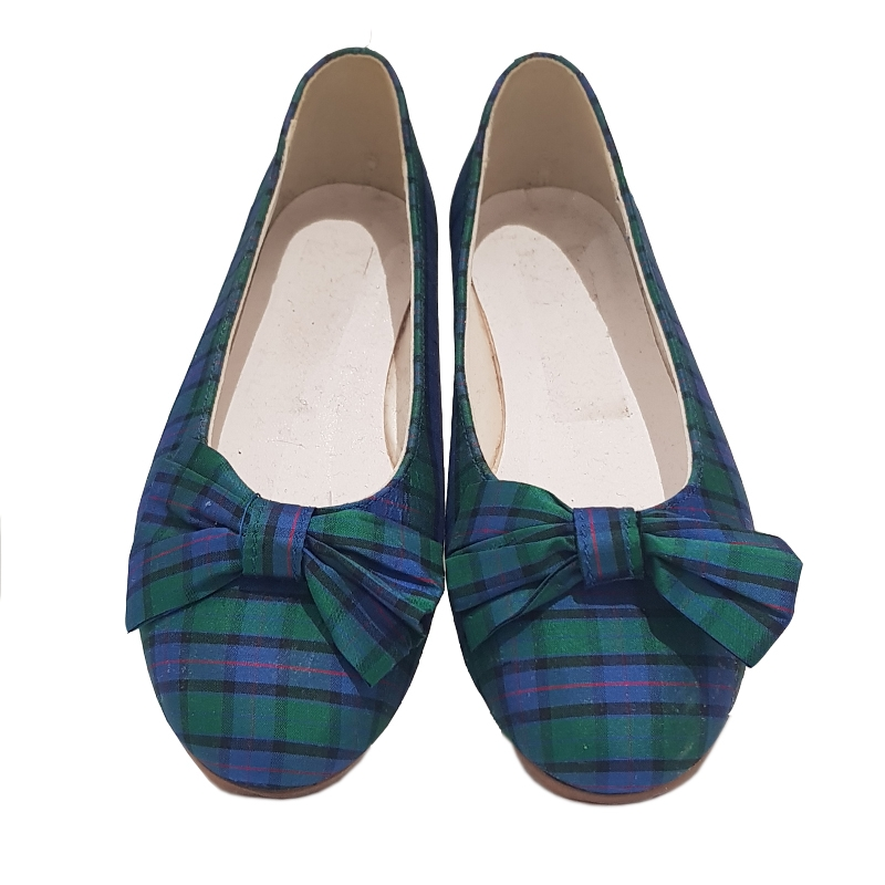 Sale Tartan Shoes