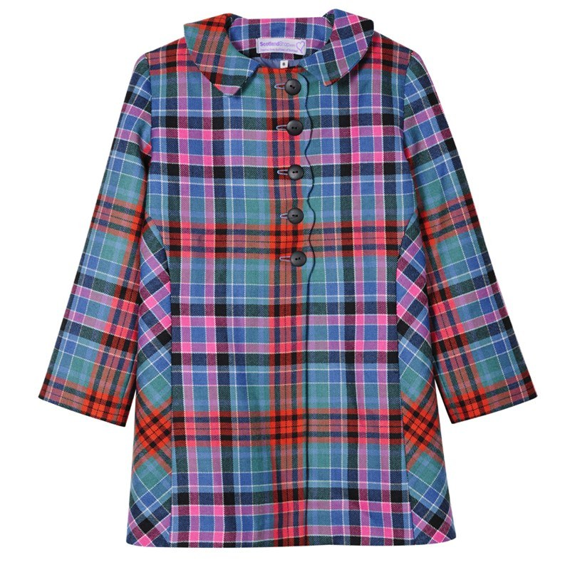 Girls Tartan Jacket