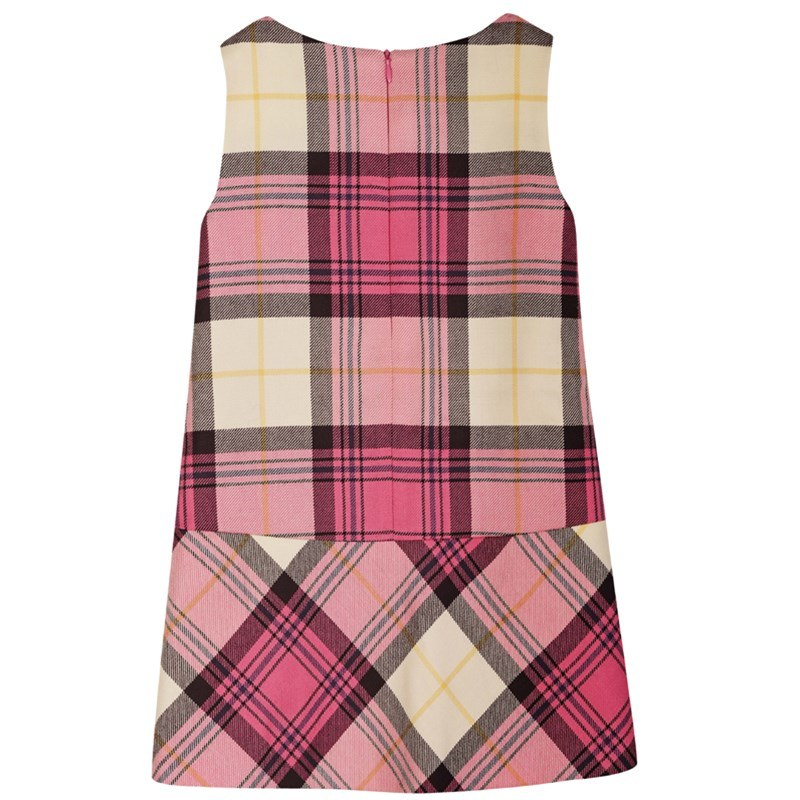 Girls Tartan Pinafore Dress 3