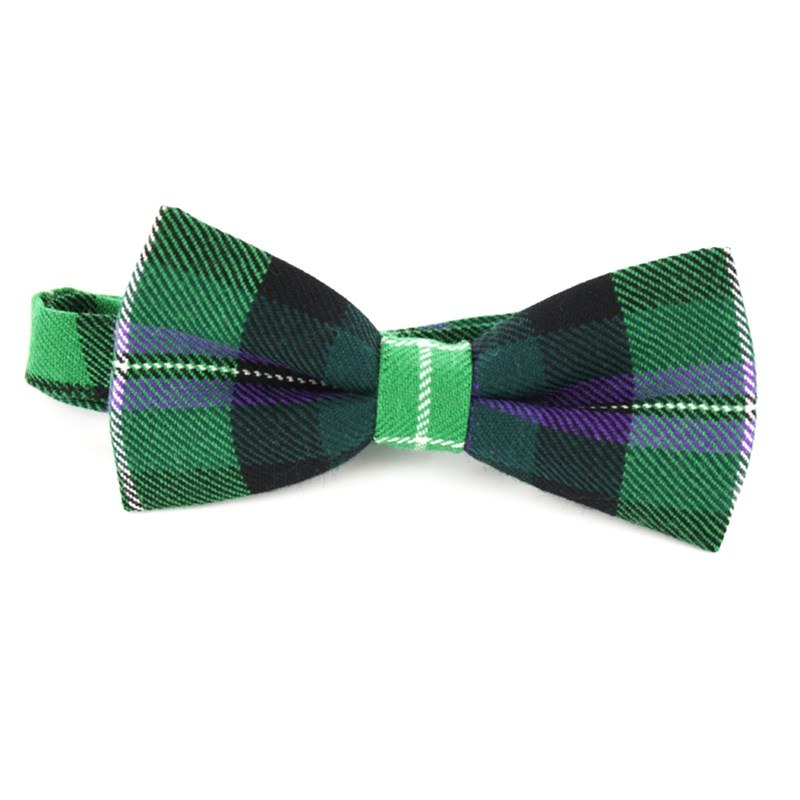 Pride of Scotland Wool Tartan Bow Tie
