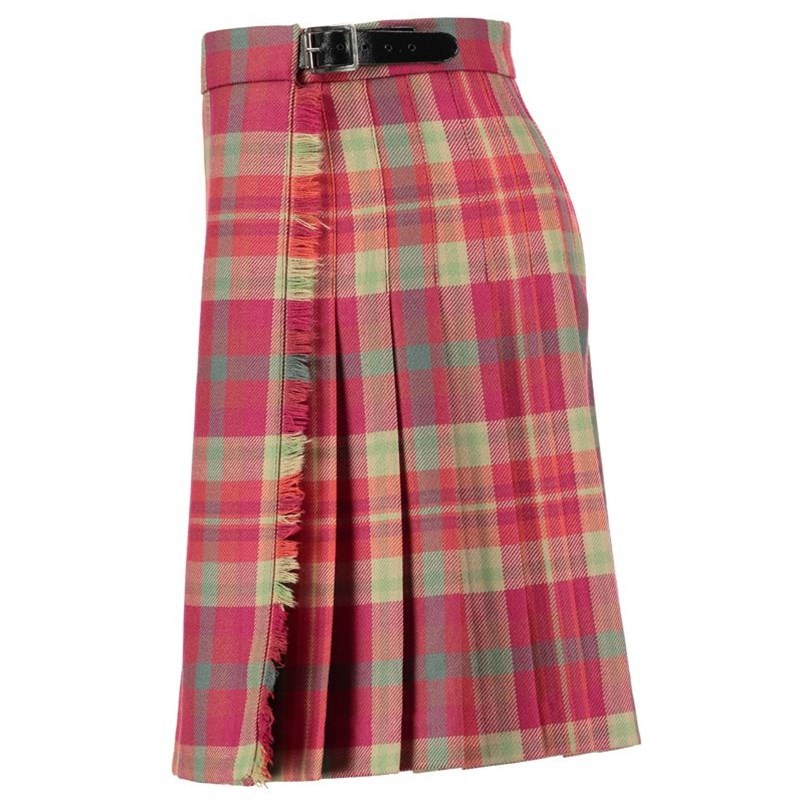 Highland Rose Girls Wool Tartan Kilt