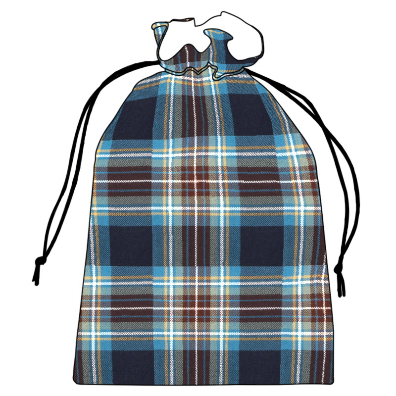 Plaid Shoe Bag  in Holyrood