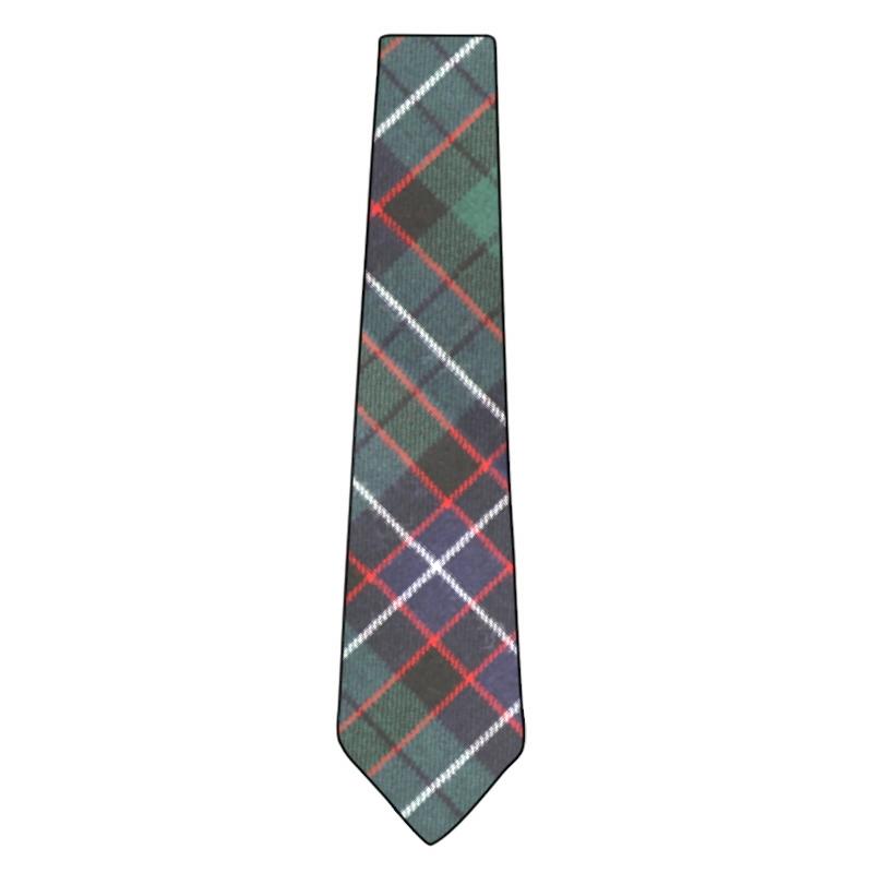 Clan Tie Mowat Modern Tartan Pure Wool Scottish Handmade Necktie