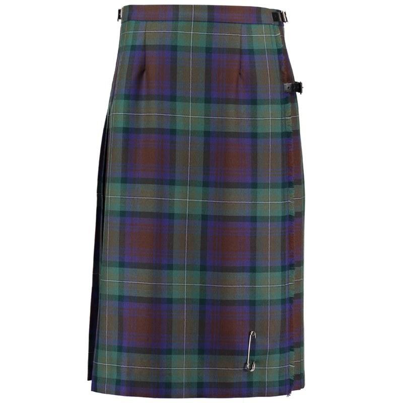 Isle Of Skye Tartan Kilted Skirt 4
