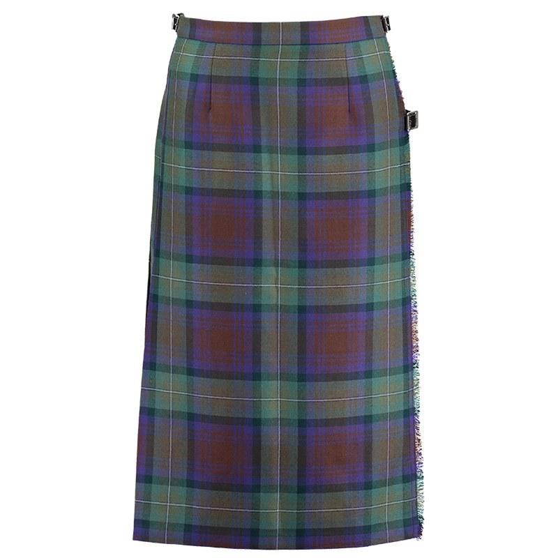 Isle Of Skye Tartan Kilted Skirt 5
