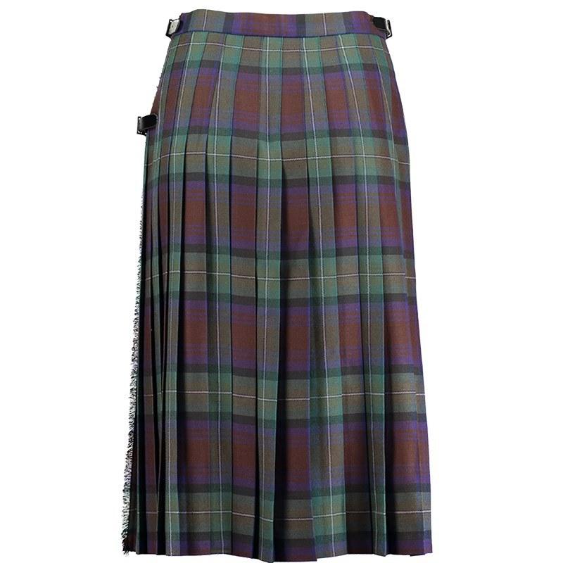 Isle Of Skye Tartan Kilted Skirt 7