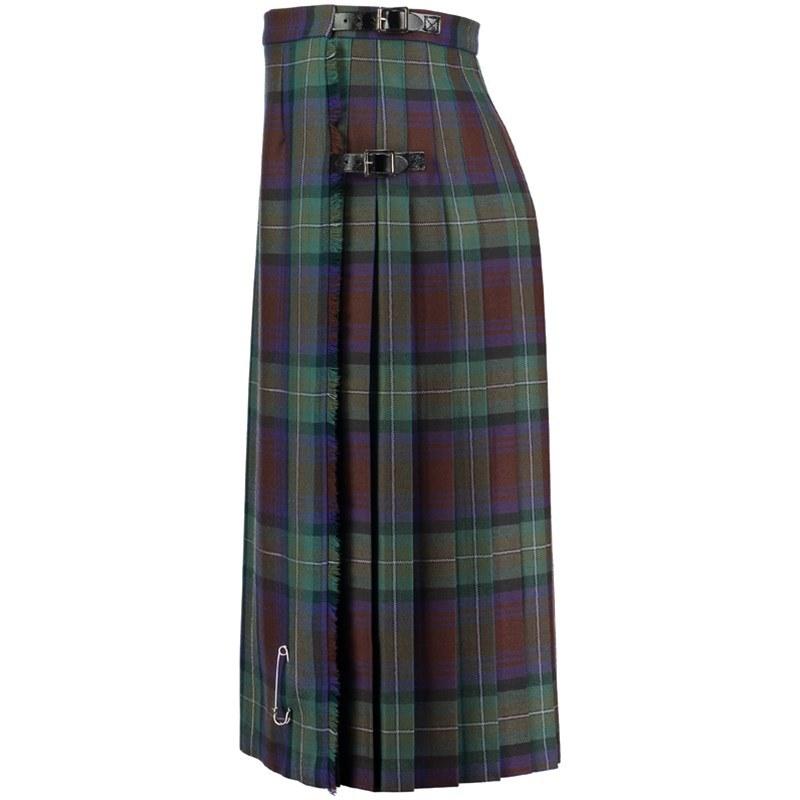 Isle Of Skye Tartan Kilted Skirt 9