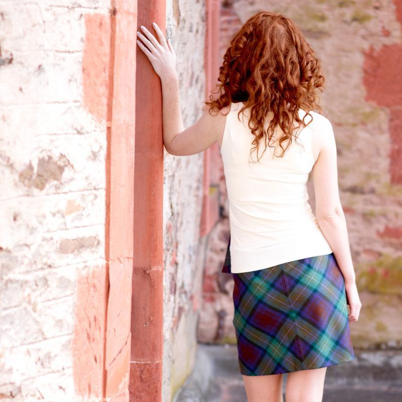 Isle Of Skye Tartan Mini Skirt 2