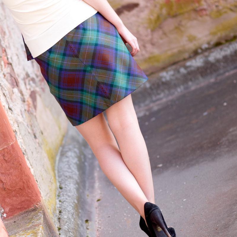 Isle Of Skye Tartan Mini Skirt 3