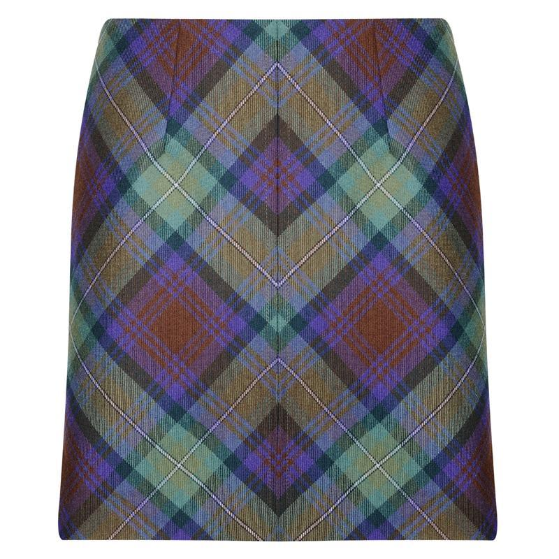 Isle Of Skye Tartan Mini Skirt 4