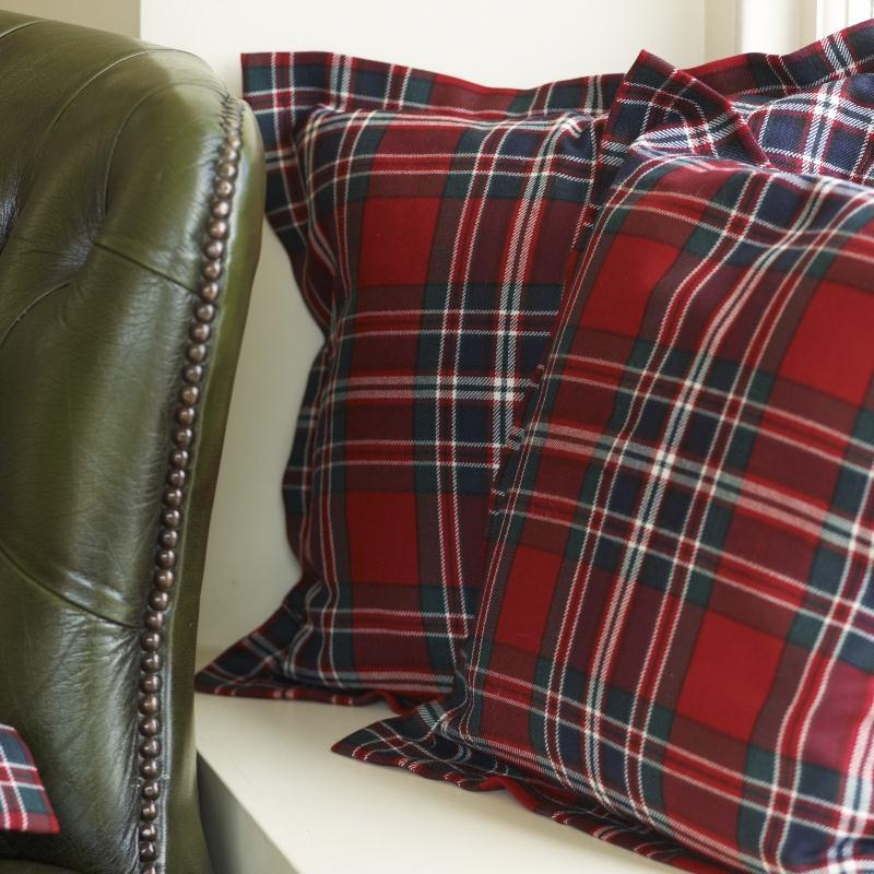 Macfarlane Clan Modern Essential Tartan Cushion Cover