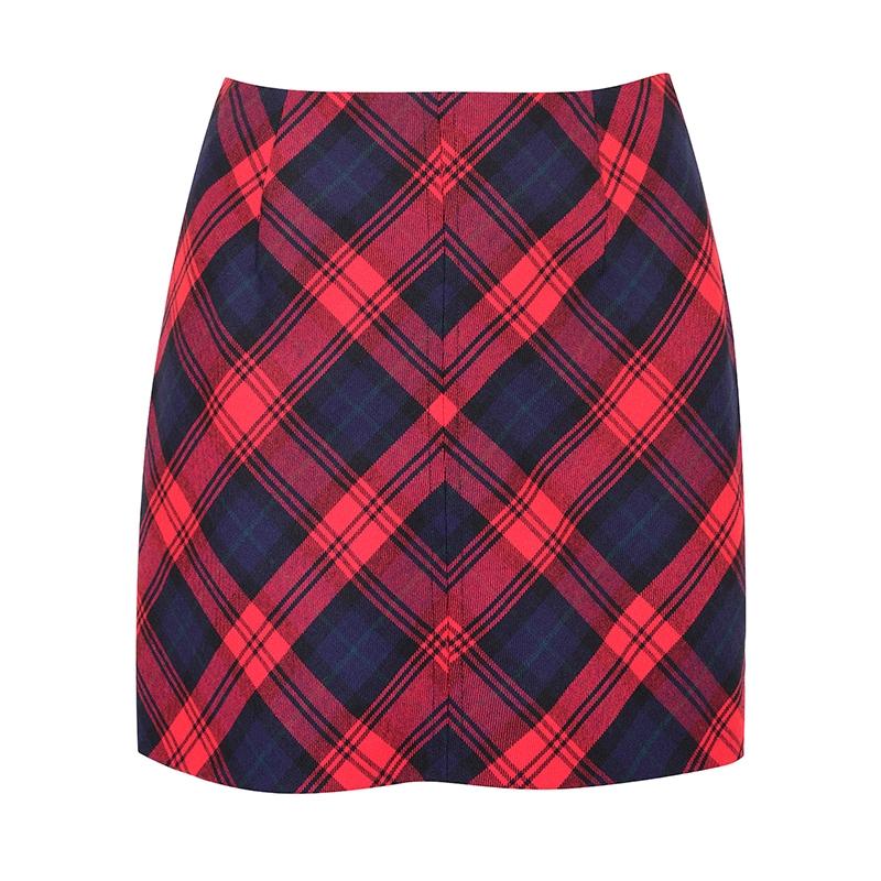 Tartan Mini Skirt in MacLachlan Modern