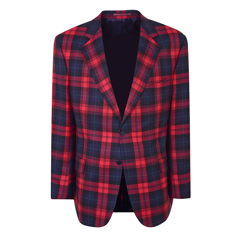 Mens Plaid Jacket in Maclachlan Modern