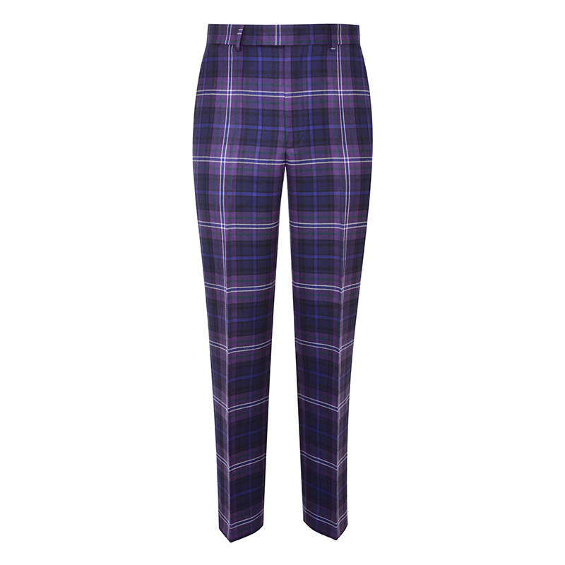 Men's Plaid Pants - Slim Cut in Scotland Forever
